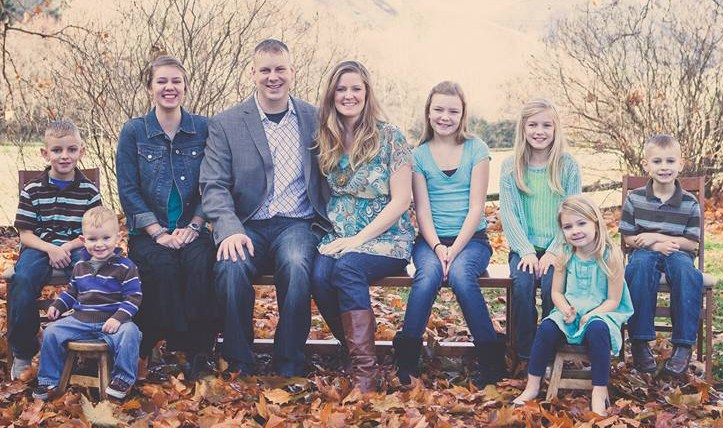 Pastor James Lindstrand, his wife Misty and their children became part of the Cottonwood Creek Community Church family in June, 2014.